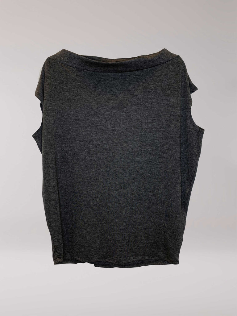 Claire Top Charcoal