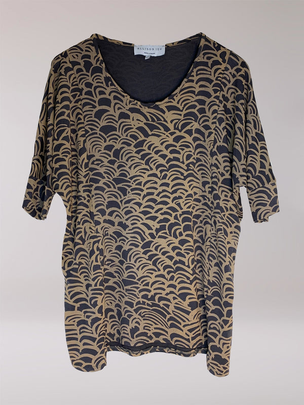 FINAL SALE - Misa Top Golden Wave