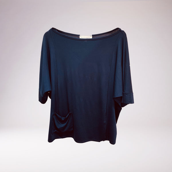Sami Boatneck Top Navy