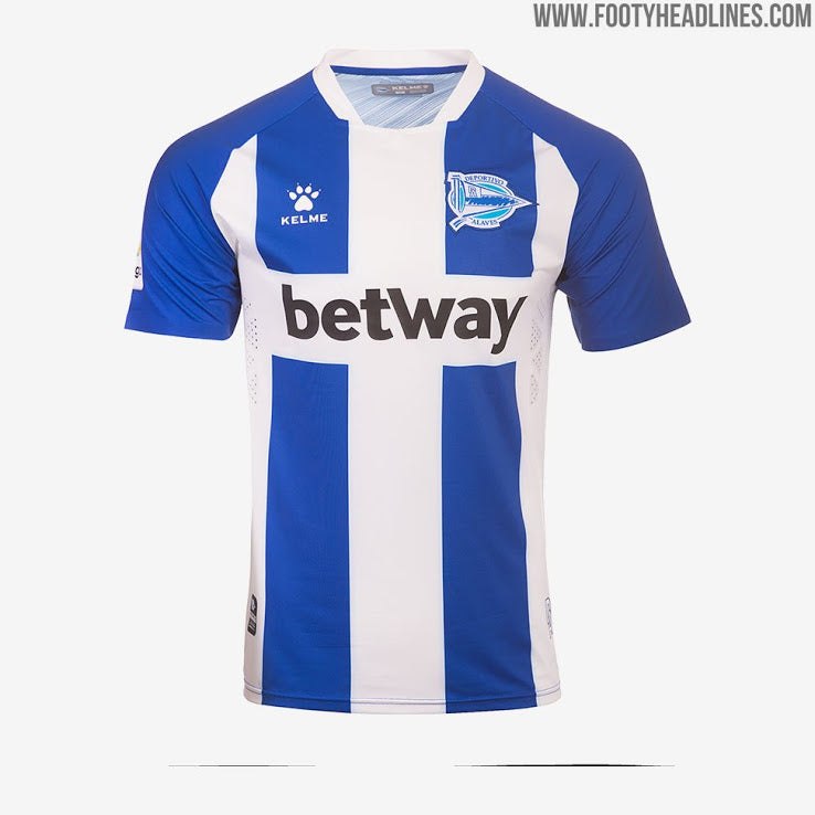 Alavés Home Shirt 2019/2020