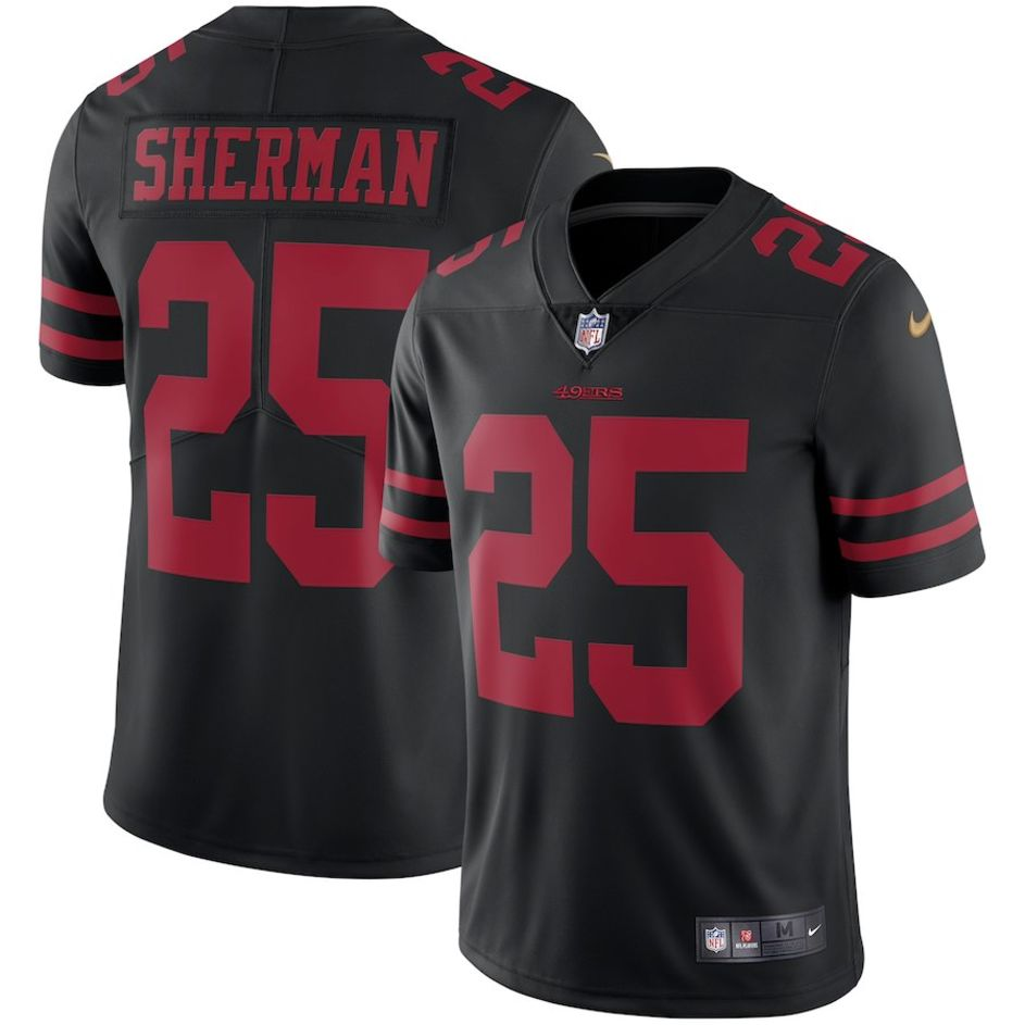 Black Richard Sherman 25 Shirt 2019/2020