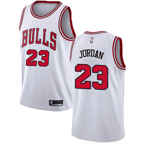 Michael Jordan Retro White Jersey