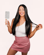The Belle Brush - The Original - Hair Extension Brush