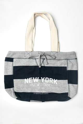 New York Striped Tote