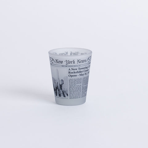 NY News Shot Glass
