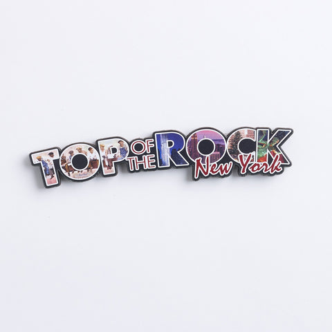 Arched Top of the Rock Logo Magnet