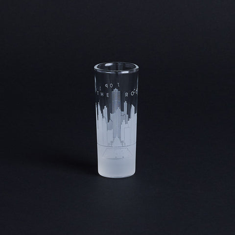 Top of the Rock Shooter Glass