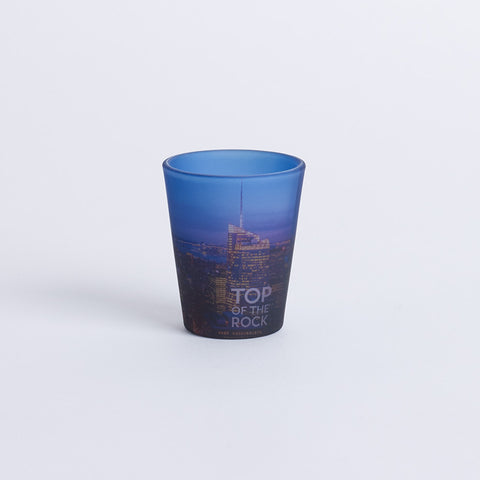 Top of The Rock Panorama Shot Glass