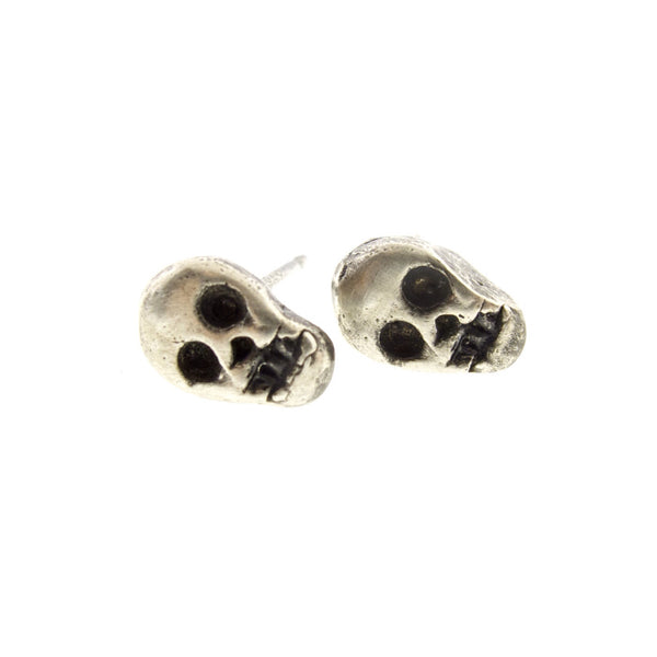 Tiniest Skull Earring (single)
