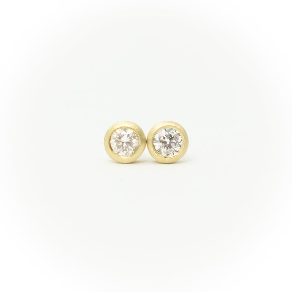 1/2carat Pair Stud Diamond Earrings