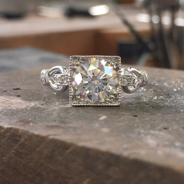 Stunner Vintage Styled Diamond Ring