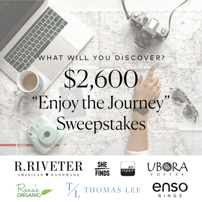 Enjoy the Journey Sweepstakes - What Will You Discover?