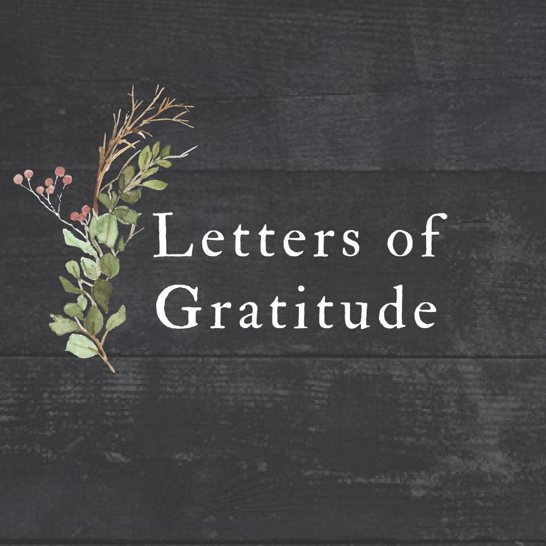 Letters of Gratitude: Letters to the Military Family