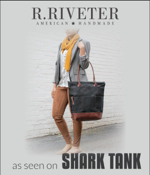 R.Riveter Shark Tank Special.Sign up and save 10% - R. Riveter