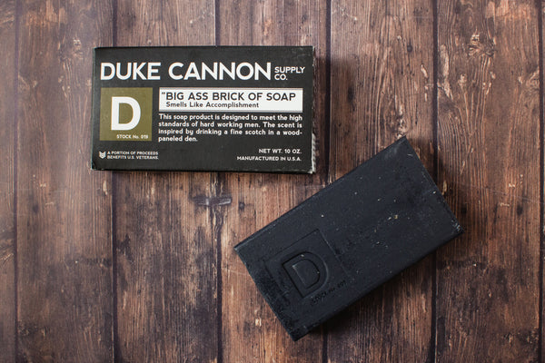 Duke Cannon | Brick of Soap : Accomplishment