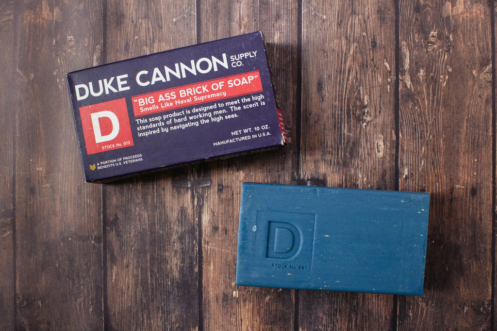 Duke Cannon | Brick of Soap : Naval Supremacy