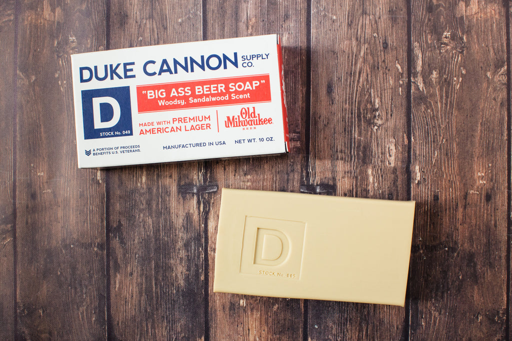 Duke Cannon | Brick of Soap: Big Beer Soap