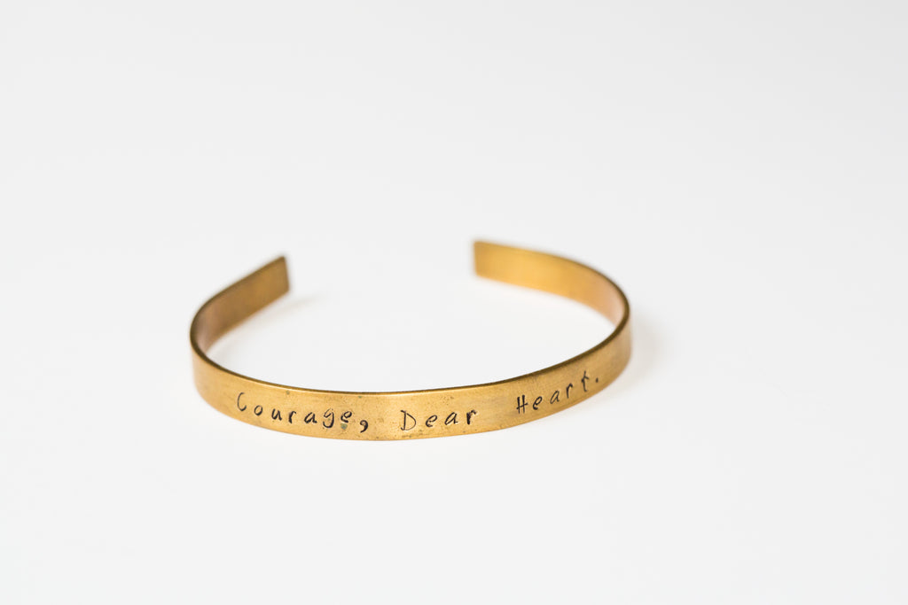 Branded Collective | Courage, Dear Heart Cuff