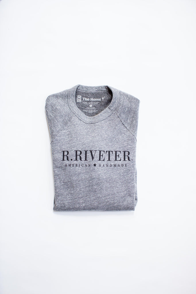R.Riveter + The Home T | Sweatshirt in Stone