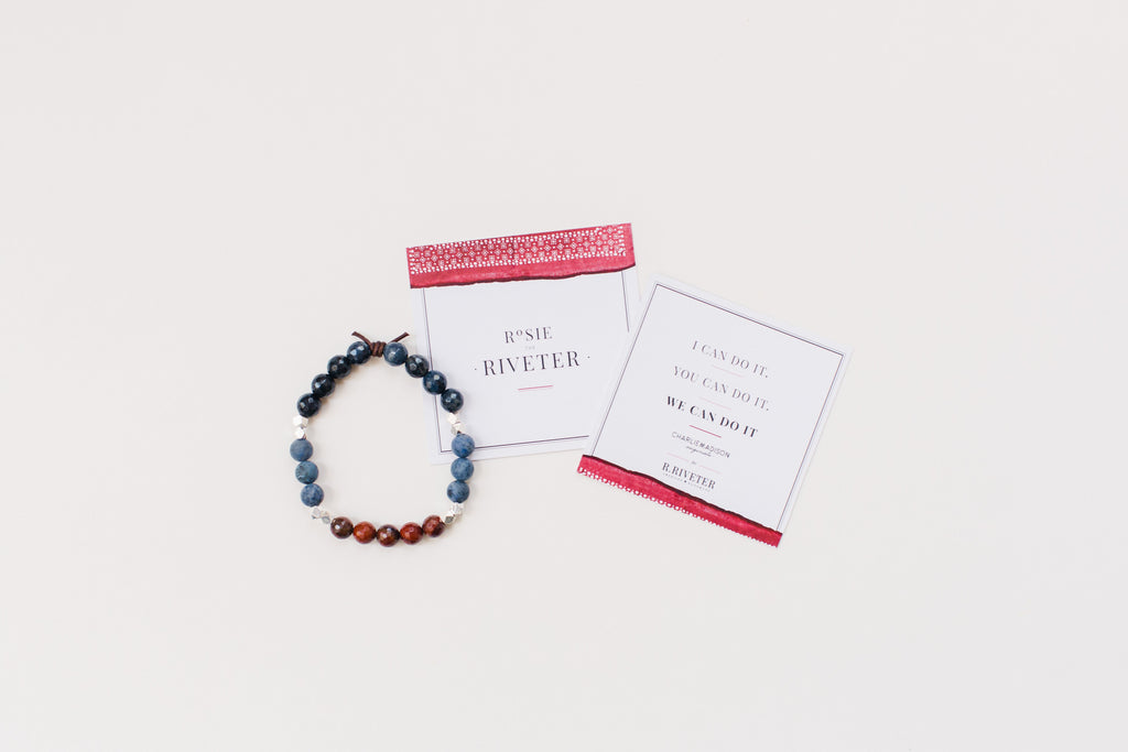 Charliemadison Originals | Rosie The Riveter Bracelet