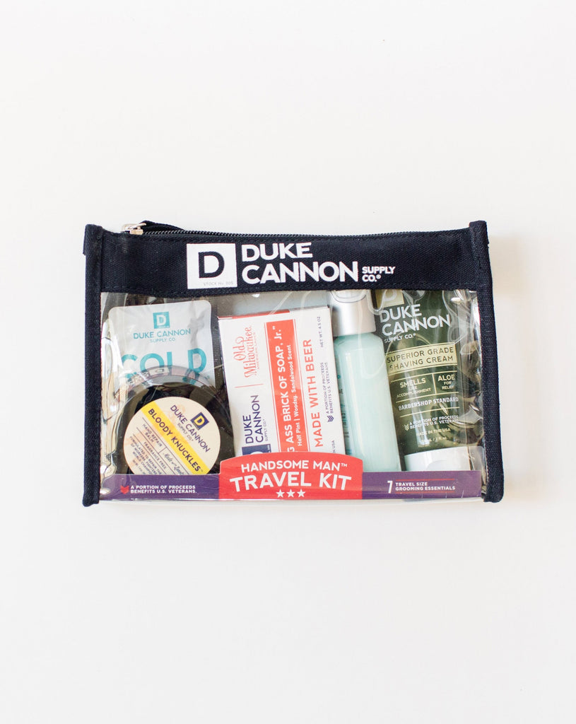 Duke Cannon | Handsome Man Travel Kit