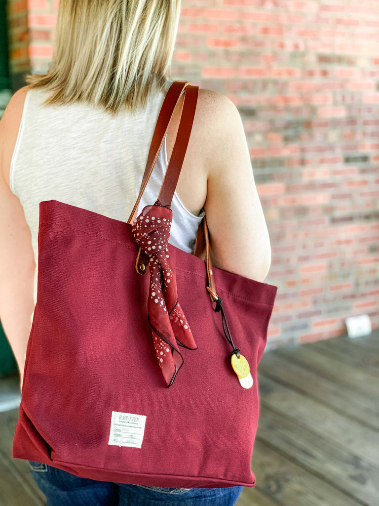 Wilson Tote | Rosie Red