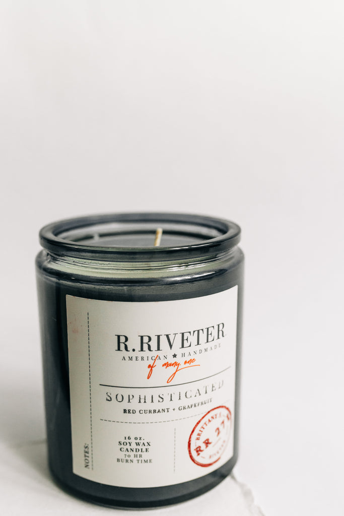 Riveter Made Candle | Sophisticated