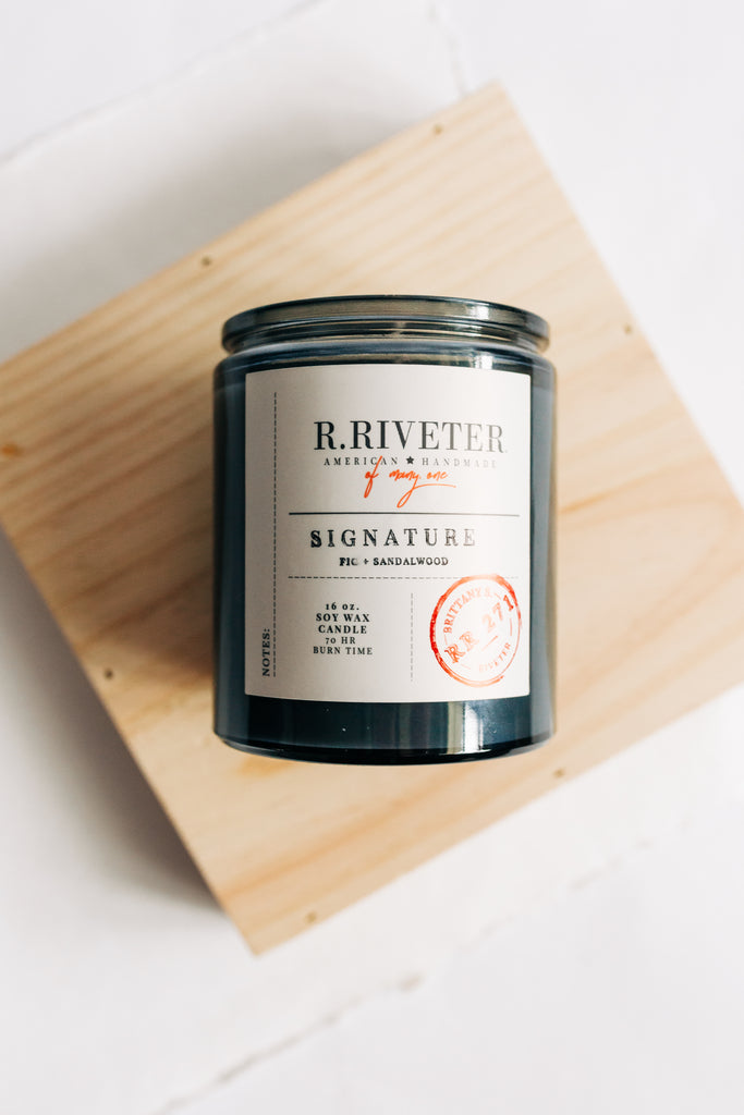 Riveter Made Candle | Signature