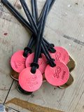 Pink Breast Cancer Support Tag + R.Riveter Dog Tag