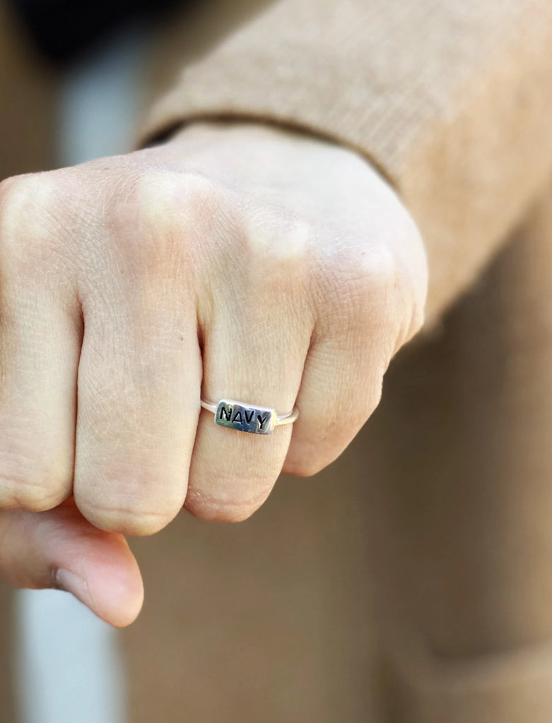 Hope Design Ltd. | Navy Ring