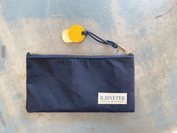 Limited Edition Zipper Pouch | Black Army Trench Coat