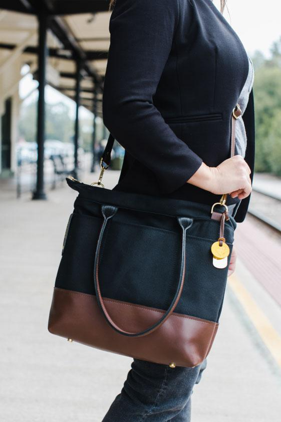 American Handmade, Handbags Made By Military Spouses, Canvas