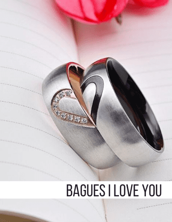 Bague Couple I Love You Insta-Couple®