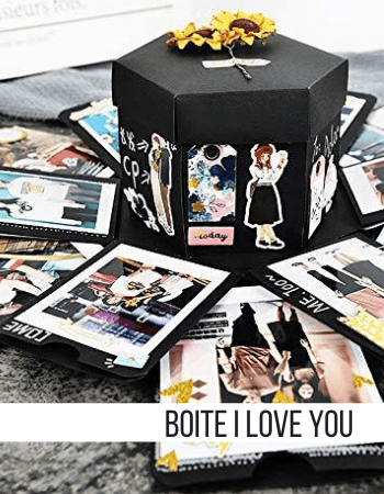 Boite Album Photo I Love You Insta-Couple®