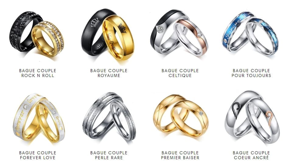 Collection Bague Couple Insta-Couple