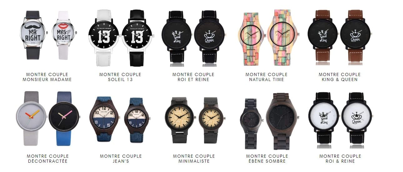 Collection Montres Couple Insta-Couple®