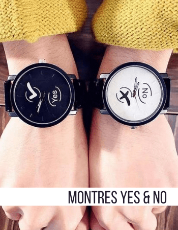 Montres Couple Yes & No Insta-Couple®