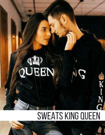 Sweats Couple King Queen Insta-Couple®
