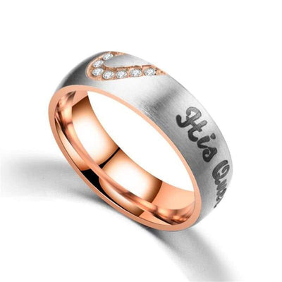 Bague Couple <br/> Originale