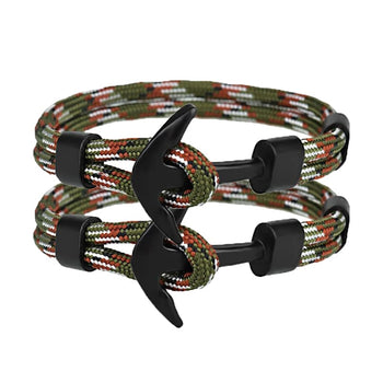 Bracelet Couple Ancre Army