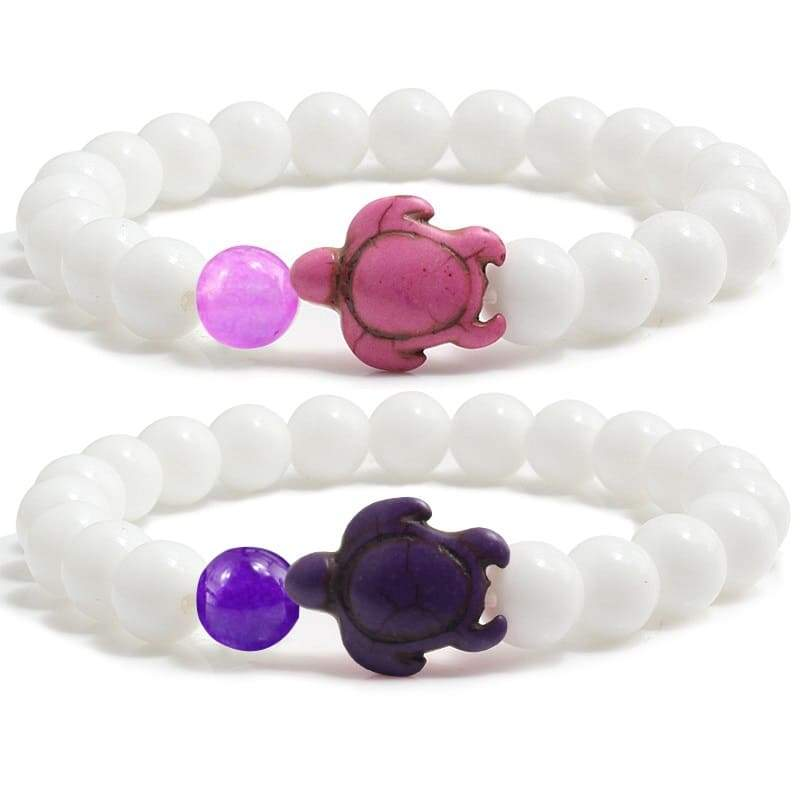 Bracelet Couple en Pierre