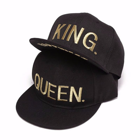 Casquette Couple King Queen Or Insta-Couple