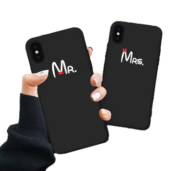 Coque Telephone Couple Monsieur Madame Insta-Couple®