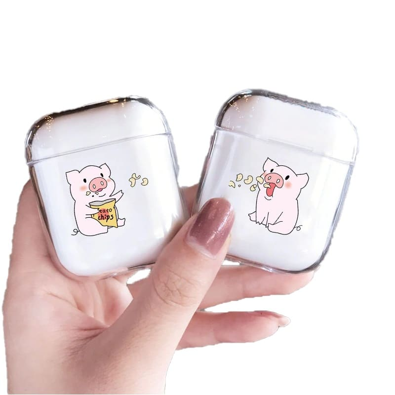 Coques Air-Pods Couple Cochon Insta-Couple®
