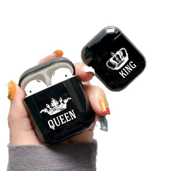 Coques Air-Pods Couple King Queen Insta-Couple®