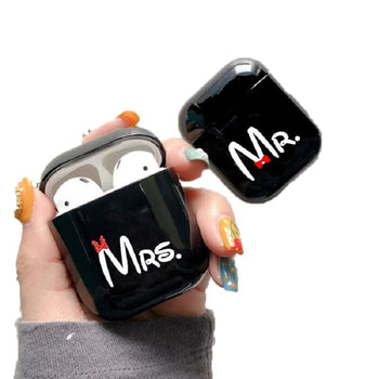 Coques Air-Pods Couple Monsieur Madame Insta-Couple®