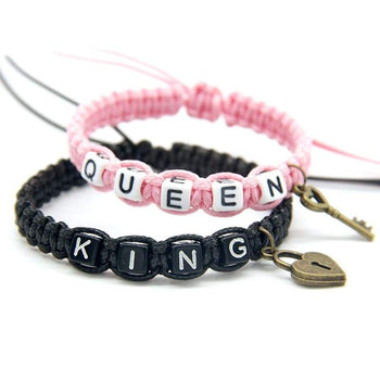 Bracelets Couple King & Queen