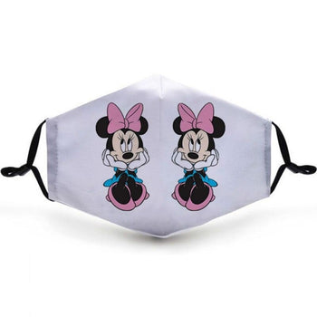 Masque Couple Mickey Minie Femme Insta-Couple®
