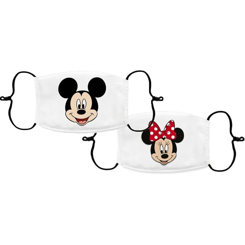 Masque Couple Mickey & Minie Insta-Couple®