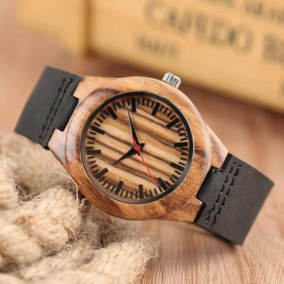 Montre Couple <br/> Bambou